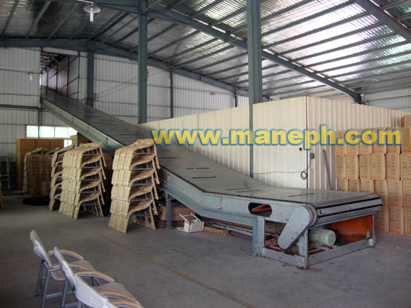 INCLINED SLAT CONVEYOR
