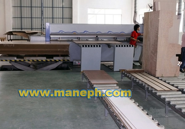 PANEL SAW INFEEDING LIFT TABLE