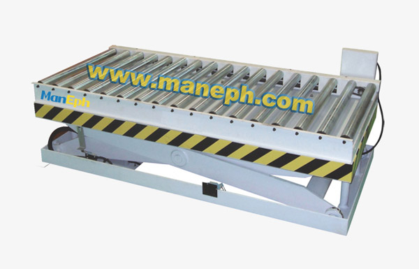 POWERED ROLLER LIFT TABLE