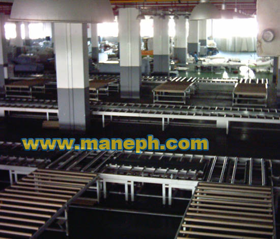 BELT AND ROLLER CONVEYOR