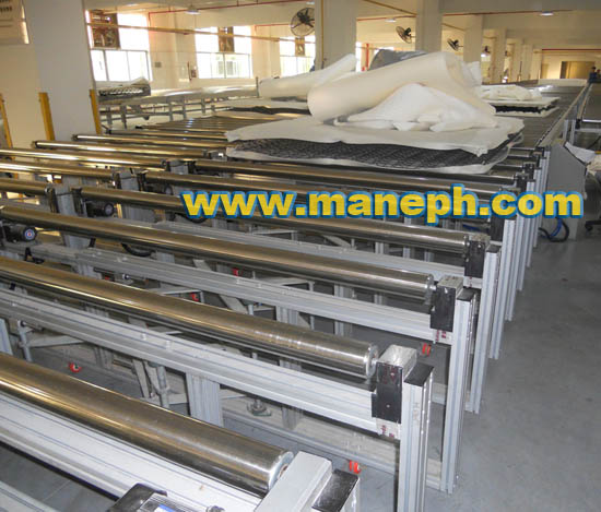 EXTENDABLE ROLLER CONVEYOR