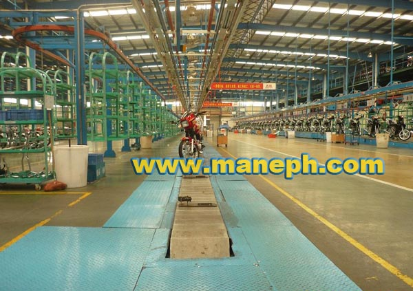 MOTORCYCLE FLOOR CONVEYOR