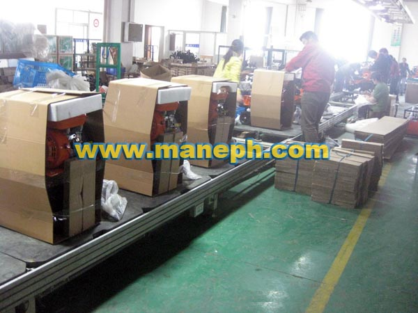 LAWN MOWER PACKING LINE