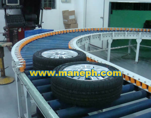 TIRE ROLLER CONVEYOR