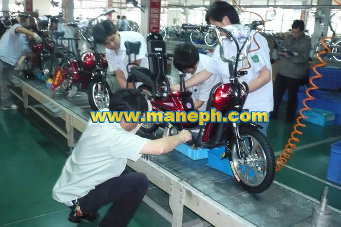ELECTRIC BIKE CONVEYOR