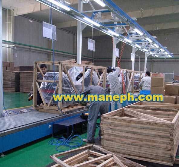 MOTORCYCLE PACKAGING CONVEYOR
