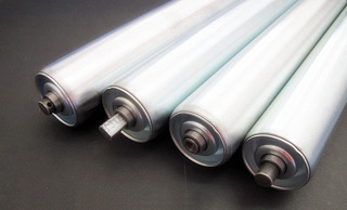 GALVANIZED ROLLER, ZINC PLATED ROLLER, STAINLESS STEEL ROLLER